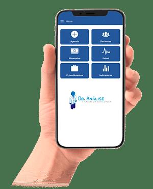 app dr análise